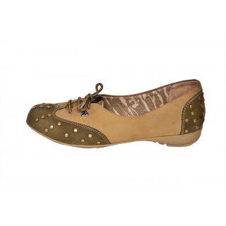 Drunk Tree Women Beige Casual Shoes (DT 0018 Beige)