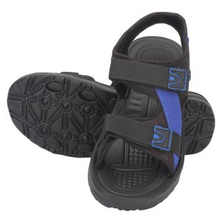 Indian Style Black  Blue Floaters For Men