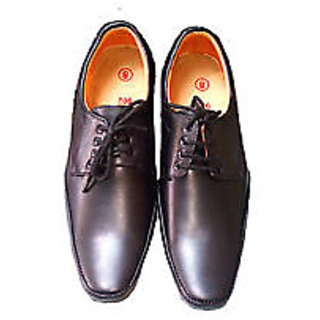 Black Men Formal Shoe With Lace-ups