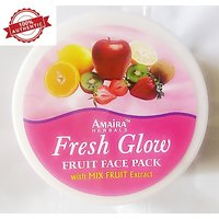 New Advanced Herbal Natural Fruits Skin Whitening Face Pack With Fruit Extracts  250 Gm - 100 Genuine Product