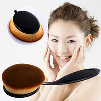 Big Oval Professional Toothbrush Curve Cosmetic Makeup Face Powder Foundation Brush Tools