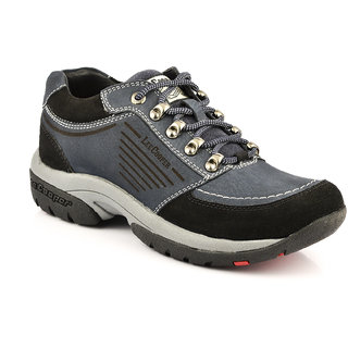 Lee Cooper Mens Blue Casual Lace-up Shoes - 92167783