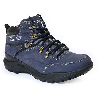 Red Chief MenS Blue Casual Lace-Up Shoes (RC5070 BLUE)