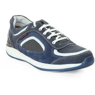 Red Chief MenS Blue Casual Lace-Up Shoes (RC2090 BLUE)