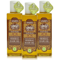 Khadi Maha Bhringraj Herbal Hair Oil Pack Of 3