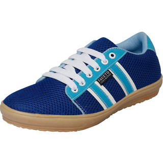 Fausto MenS Blue Casuals Lace-Up Shoes (FST 1008 ROYAL BLUE)