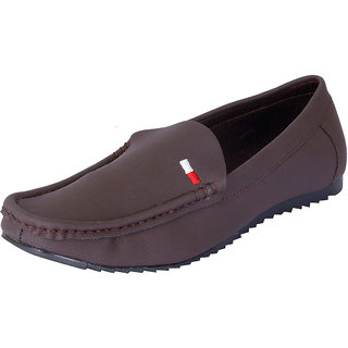 Fausto MenS Brown Casual Loafers (FST 1014 BROWN)