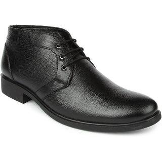 Spunk Zen Black Formal Lace Up Shoes (Zen)