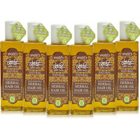Khadi Maha Bhringraj Herbal Hair Oil Pack Of 6