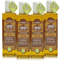 Khadi Maha Bhringraj Herbal Hair Oil Pack Of 4