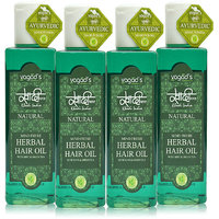 Khadi Mind-Fresh Herbal Hair Oil Pack Of 4