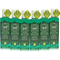 Khadi Mind-Fresh Herbal Hair Oil Pack Of 6