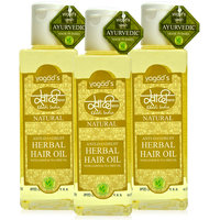 Khadi Anti-Dandruff Herbal Hair Oil Pack Of 3