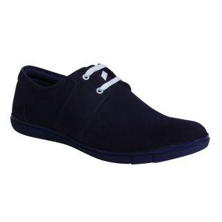 Monkx MenS Blue Casuals Lace-Up Shoes (1003-2-BLUE)