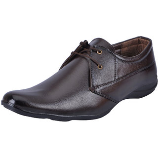 Fausto MenS Brown Formal Lace-Up Shoes (FST 3204 RODIO)