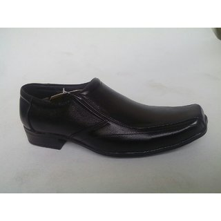 Leather Formal Shoes With Black Colour