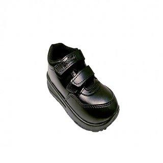 Super Divine Collections - Velcro School Shoes - Black