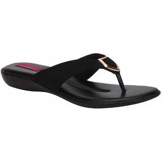 Rialto WomenS Black Casual Slip On Flats (Rialto-K11-Black)