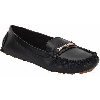 Rialto WomenS Black Casual Slip On Flats (Rialto-K19-Black)