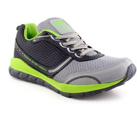 Urban Tape MenS Grey,Green Lace-Up Sports Shoes