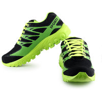 Urban Tape MenS Green Lace-Up Sports Shoes