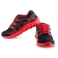 Urban Tape MenS Red Lace-Up Sports Shoes