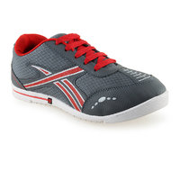 Urban Tape MenS Grey,Red Lace-Up Sports Shoes