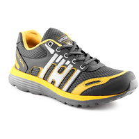 Urban Tape MenS Grey,Yellow Lace-Up Sports Shoes
