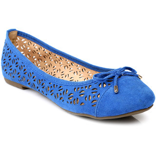 Solovoga WomenS Blue Casuals Slip On Shoes