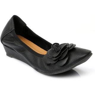 Solovoga WomenS Black Round Toe Heel Sandals