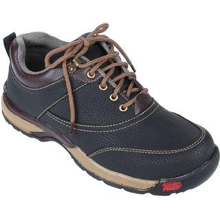 Monkx MenS Black Casuals Slip On Shoes (BLM-111-BLACK-61)