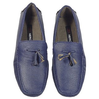 MSHBN009 By Nero Blue Color Loafers For Mens