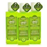 Khadi Tulsi  Heena Herbal Shampoo PACK OF 3 100 ML