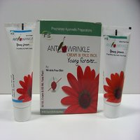 Herbal Anti Wrinkle Cream And Face Pack