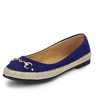 American Swan Womens Blue Casuals Slip On Shoes - 92909262