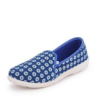 American Swan Womens Blue Casuals Slip On Shoes - 92909455