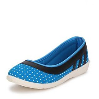 American Swan Womens Blue Casuals Slip On Shoes - 92909505