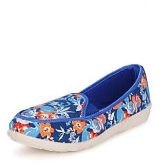 American Swan Womens Blue Casuals Slip On Shoes - 92909575