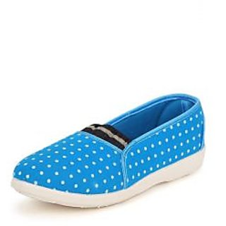 American Swan Womens Blue Casuals Slip On Shoes - 92909633