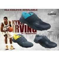 Camro Black And Yellow Sports Shoes For Mens