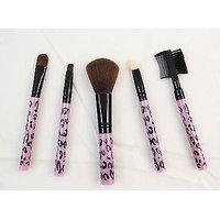 Profusion 5 PCS COSMETIC BRUSH SET KIT - Eyebrow  Eye Shadow Brush Set