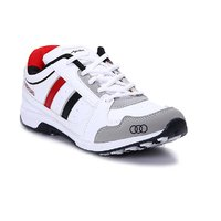 Apoxy Mens APX-1009-WHITE-BLACK-RED Sports Shoes - 93062502