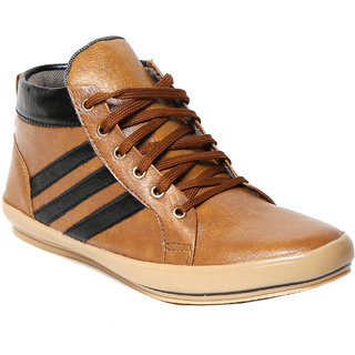 Craze Shop MenS Beige Casual Shoes - 93068263