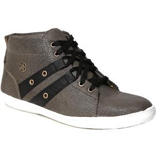 Craze Shop MenS Grey Casual Shoes - 93068317
