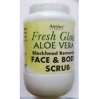 900 Ml Herbal New Advanced Aloe Vera Face And Body Scrub For Blackhead Removing And Radiant Skin At Wholesale Prices