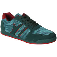 Action MenS Green Lace Up Sports Shoes