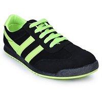Action Shoes MenS Black Lace-Up Sport Shoes - 93430916