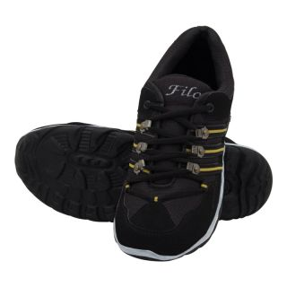 KaceyS Sports Shoes With Black With White Line Shoes For Unisex Size- 6