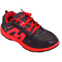 Xpert Yes6 Men Black, Red Sports Shoes