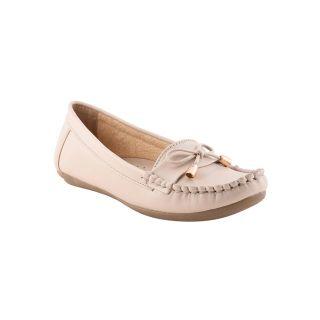 Bruno Manetti Women Beige Casual Shoes (676-1-Beige)